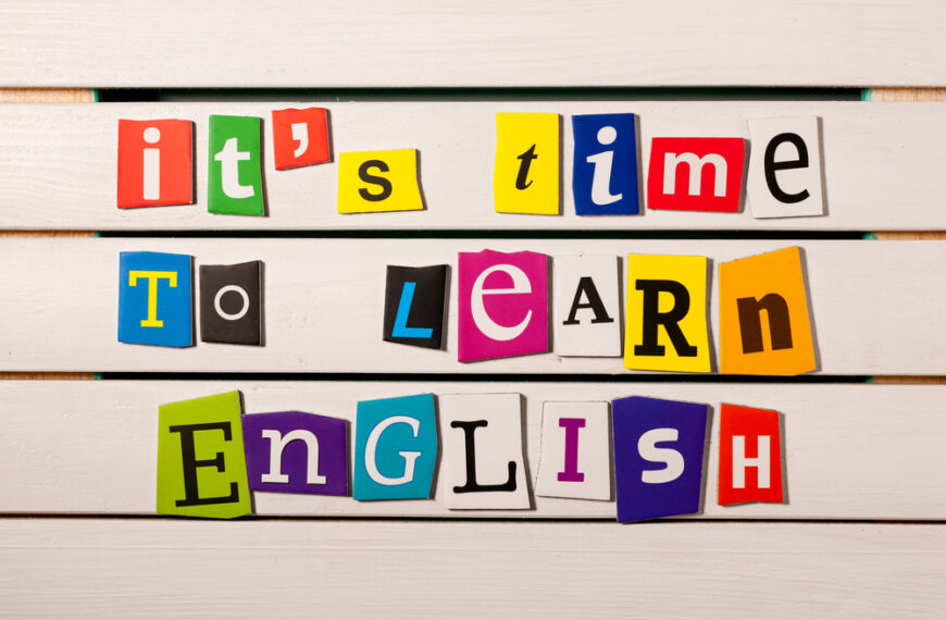 Learn English at home: some tips